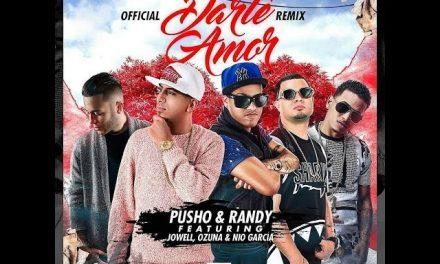 OnellFlow Feat Pusho, Randy, Jowell, Ozuna, Nio Garcia – Darte Amor Remix (Lyric Video)