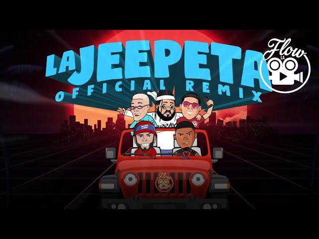 Nio Garcia x Brray x Juanka x Anuel AA x Myke Towers – La Jeepeta Remix (Lyric Video)